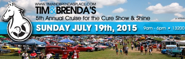 Pop Cherry – Tim and Brenda's Place Cruise for the Cure 2015